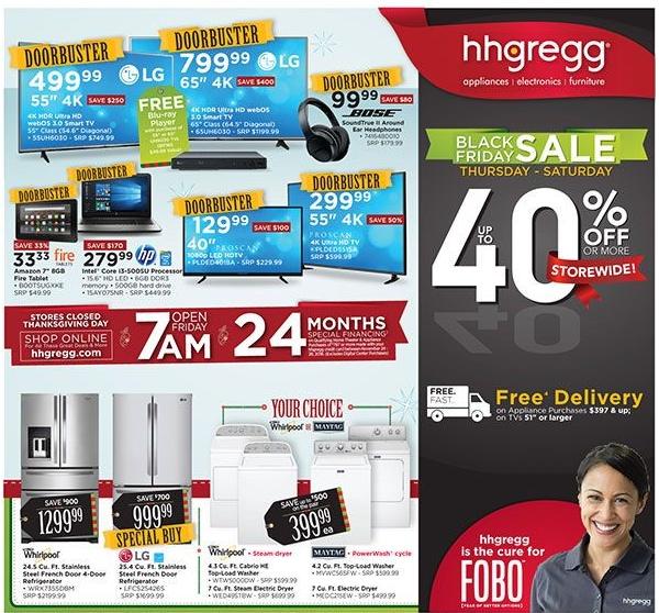 Hhgregg Black Friday Ad 2016