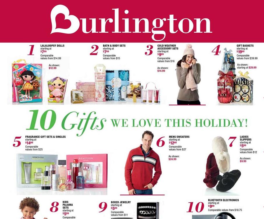 Burlington Black Friday Ad 2016