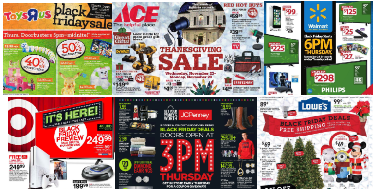 2016 Black Friday Ads Round-Up!