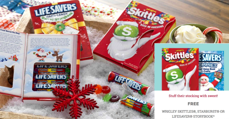 Kroger: Free Skittles, Starburst, or Lifesaver Storybook today!