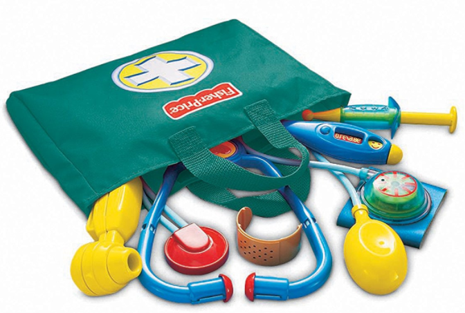 Get the Fisher-Price Medical Kit for just $6.49 on Amazon right now!