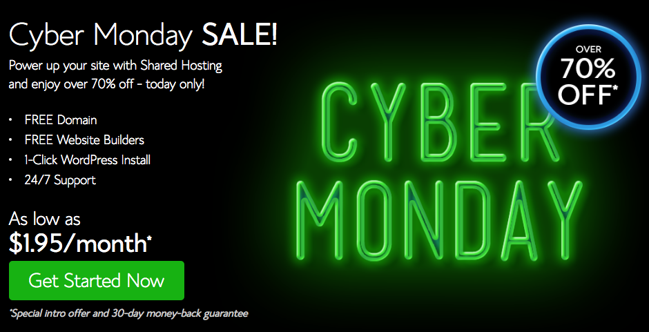 *HOT* Bluehost Sale: Web hosting for just $2.40 per month!