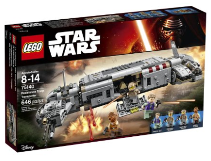 Get the LEGO Star Wars Resistance Troop Transporter for just $48.99 shipped right now, plus tons of other great LEGO deals!