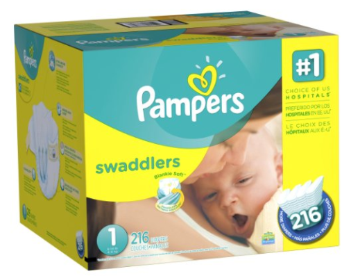 Get Pampers Swaddlers Diapers as low as $0.12 per diaper, shipped!