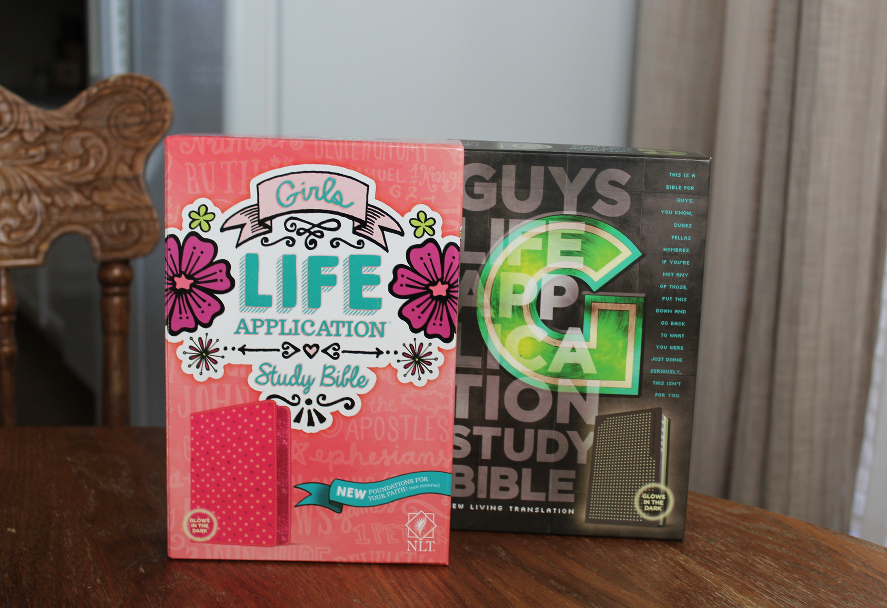 Enter to win a FREE Life Application Bible!