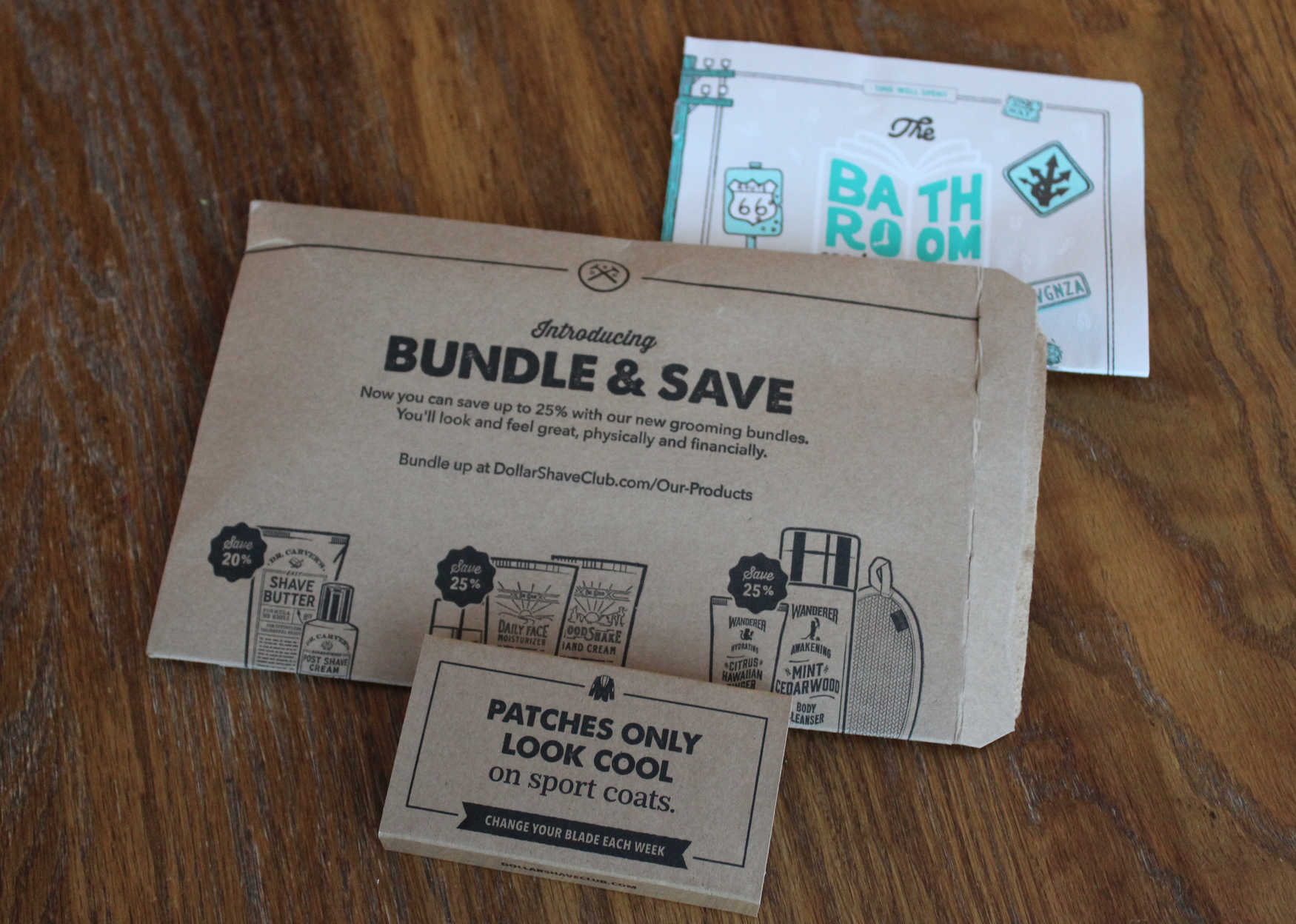 Dollar Shave Club Packaging