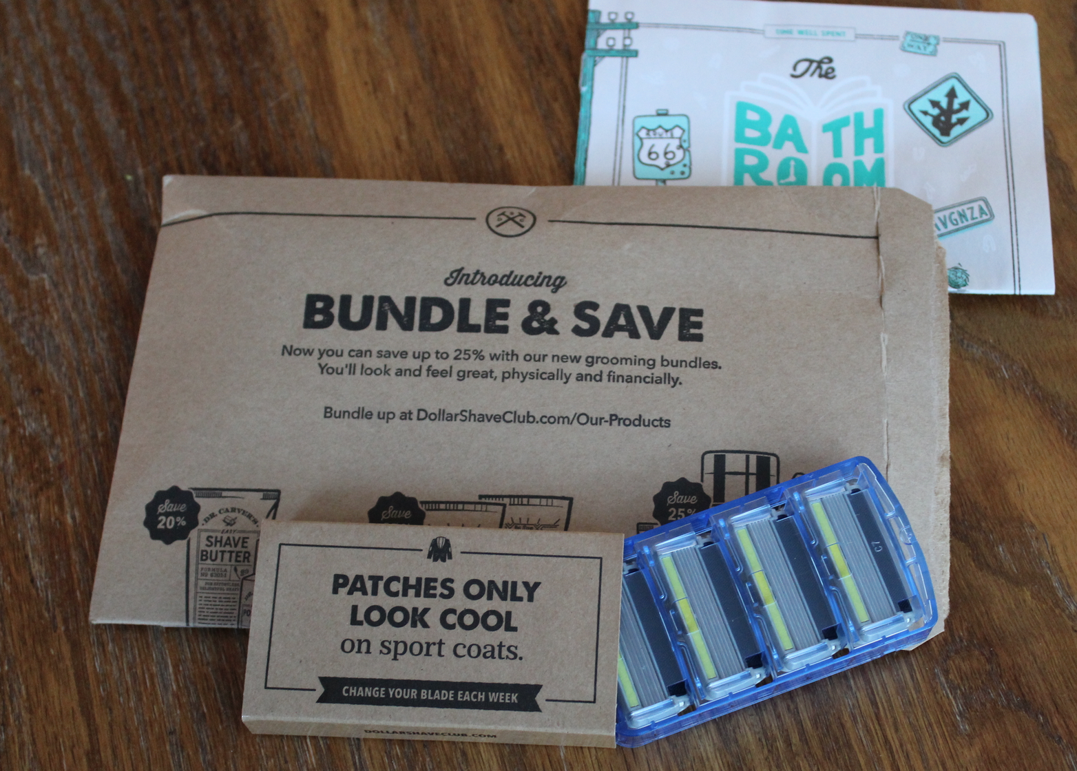 Dollar Shave Club Executive Razor Blades