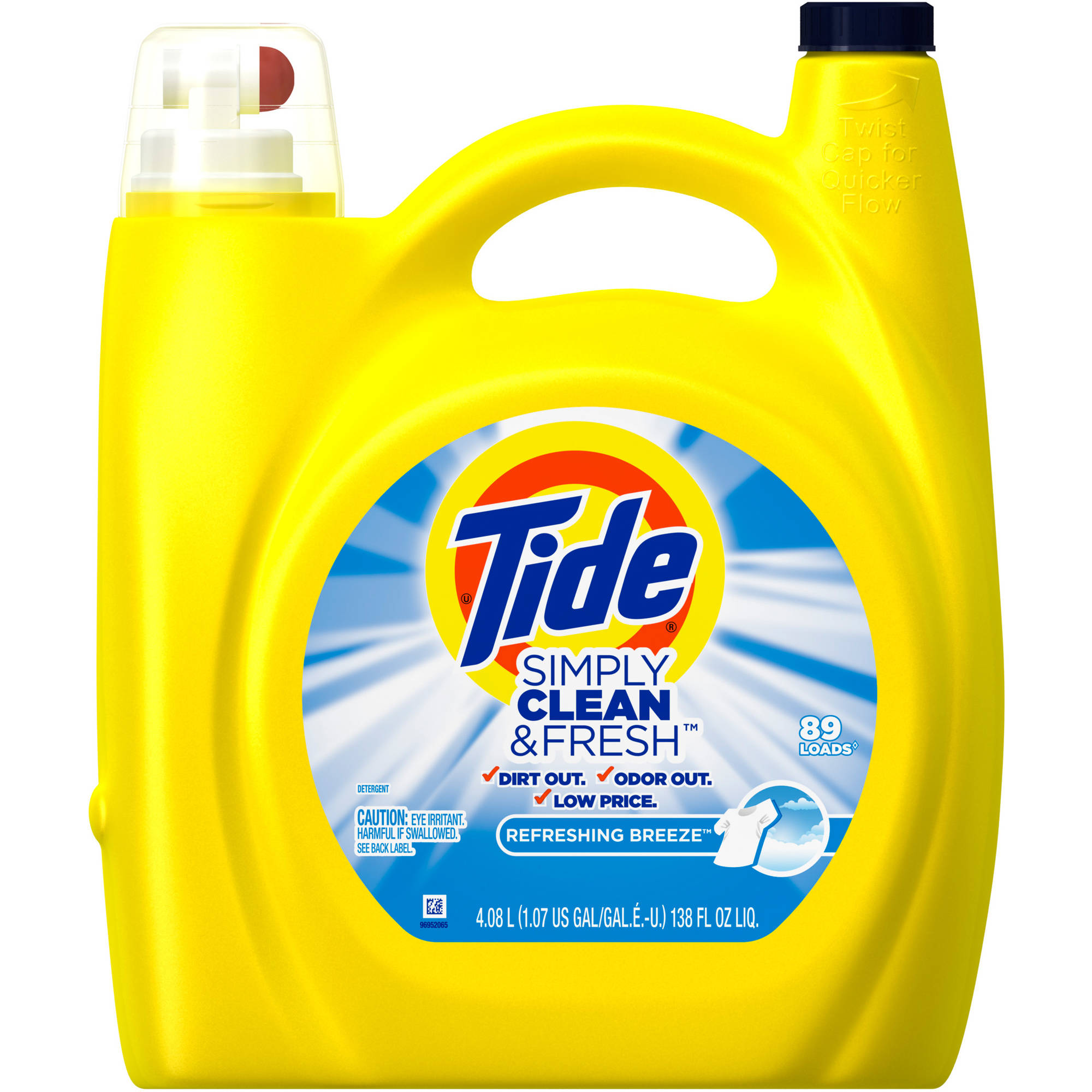 Walmart: Free Tide laundry detergent after rebate!