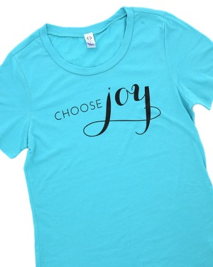 Choose Joy Graphic Tee