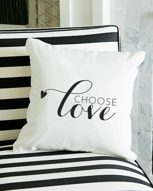 Choose Love Pillow Covers