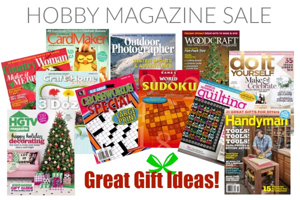 Craft Magazine Subscriptions With Free Gifts