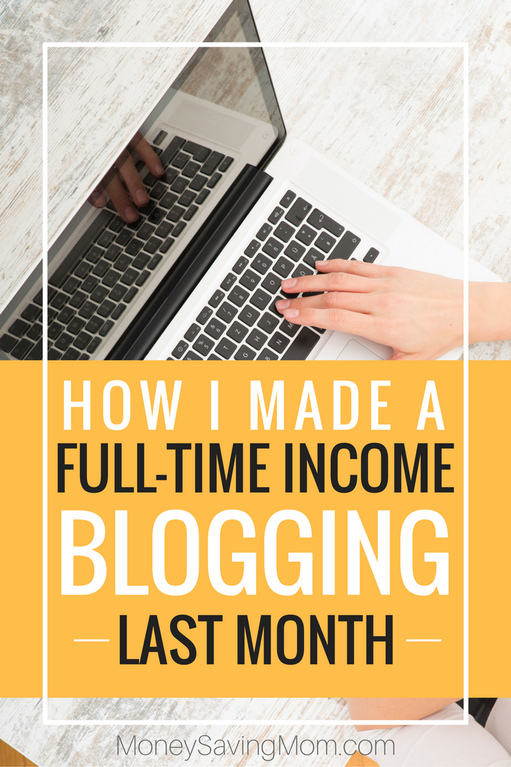 Make a full-time income blogging!