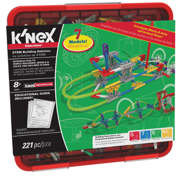 Get the K'Nex Education Intro to Simple Machines Set for just $15.92!