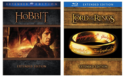 Get Lord of the Rings and Hobbit trilogies on Blu-ray for lowest price on record!