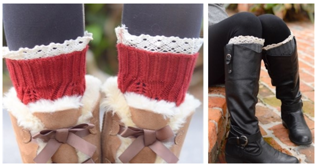 Get Crochet Women's Boot Cuffs for just $7.99 shipped!