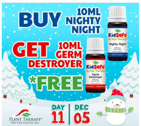 Plant Therapy: Buy one, get one free KidSafe essential oils!