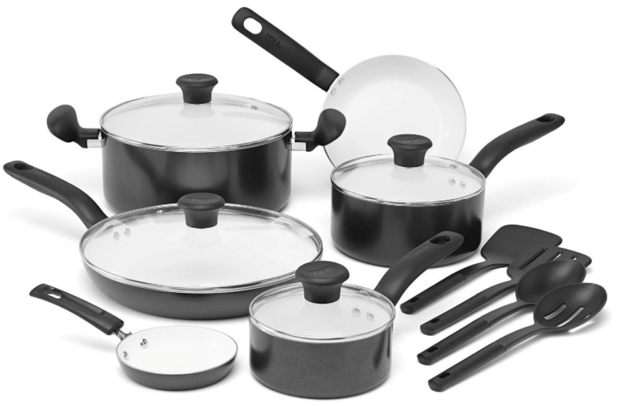 Get select T-Fal Cookware Sets for the lowest prices on record!