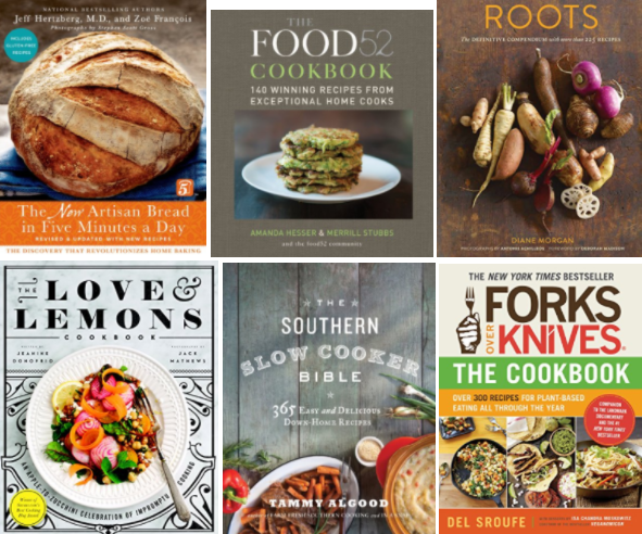 Get up to 80% off popular Kindle eCookbooks on Amazon today!