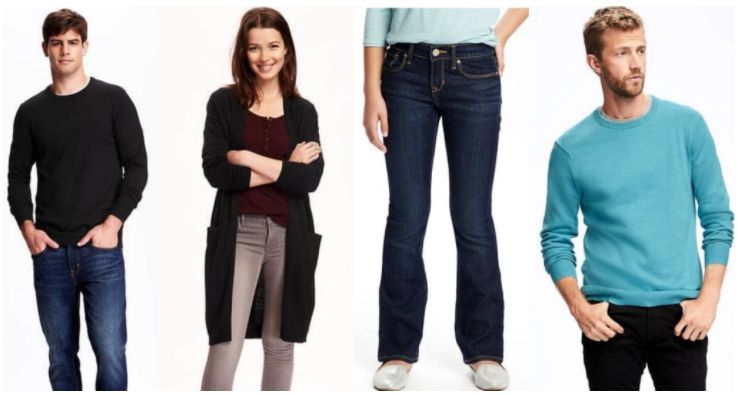 Old Navy: Jeans & Sweaters Sale for the Whole Family!