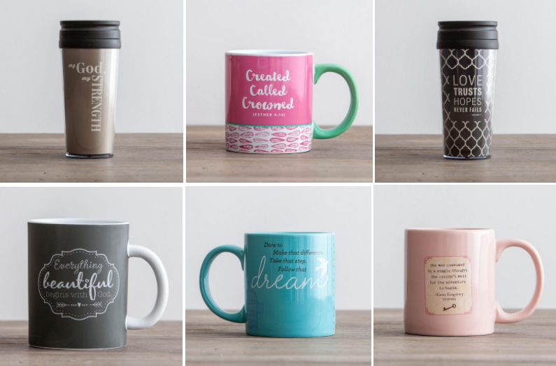 DaySpring: Get coffee mugs for as low as $3.75 each, shipped!