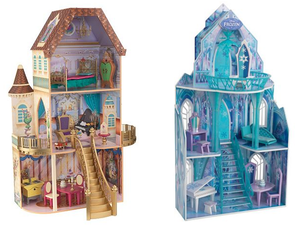 Get Disney's Beauty & the Beast Enchanted Dollhouse or Frozen Ice Castle Dollhouse for just $59.99 shipped!