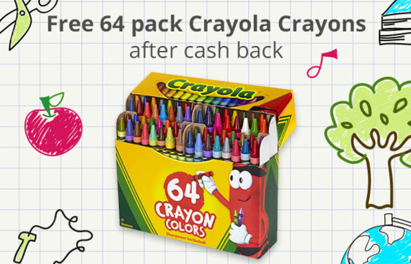 get a free crayola 64 pack crayons after rebate at toys r us - Free Crayola Crayons