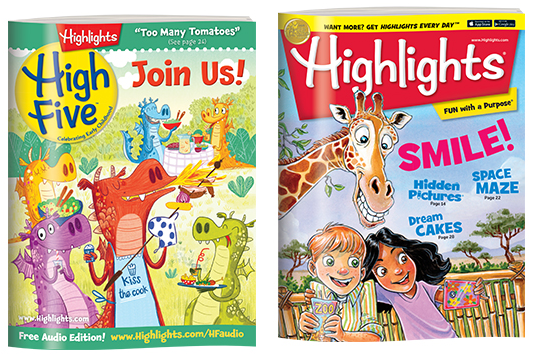 Free 3-month subscription to Highlights magazine!
