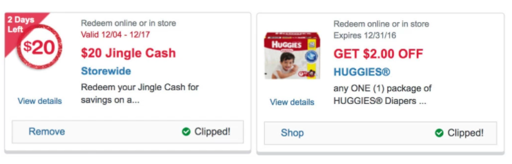 Walgreens: $20 off $30 coupon to use in-store or online!