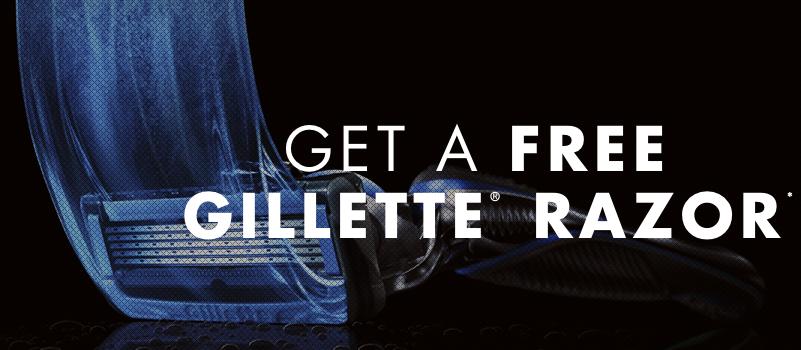 Free Gillette Razor!