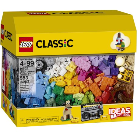 Get the LEGO Classic Creative Building 583-Piece Set for just $25 at Walmart right now!