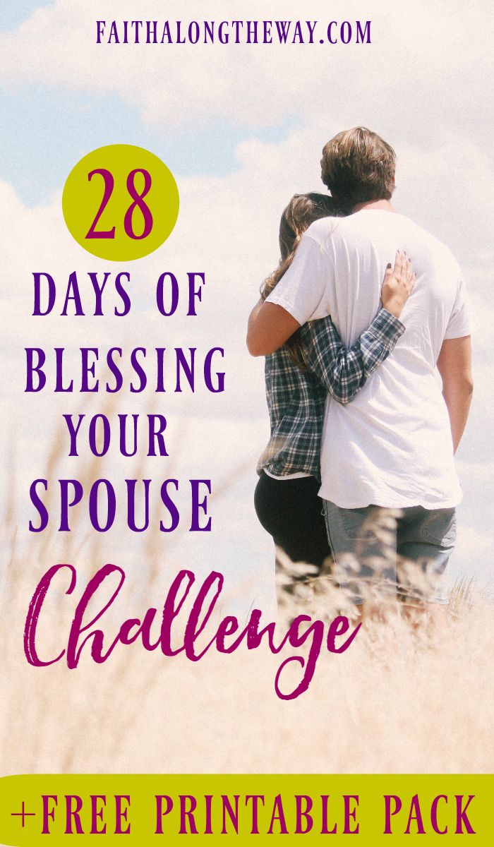 Free 28-Day Blessing Your Spouse Printable Pack