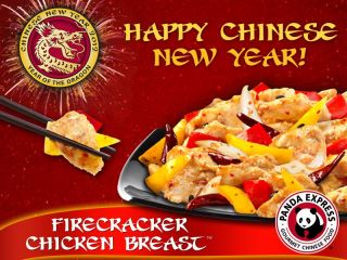 Panda Express: Free Firecracker Chicken