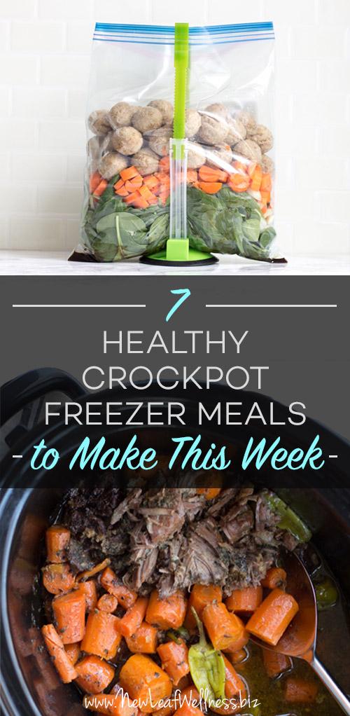 7 Healthy Crockpot Freezer Meals to Make This Week - Money