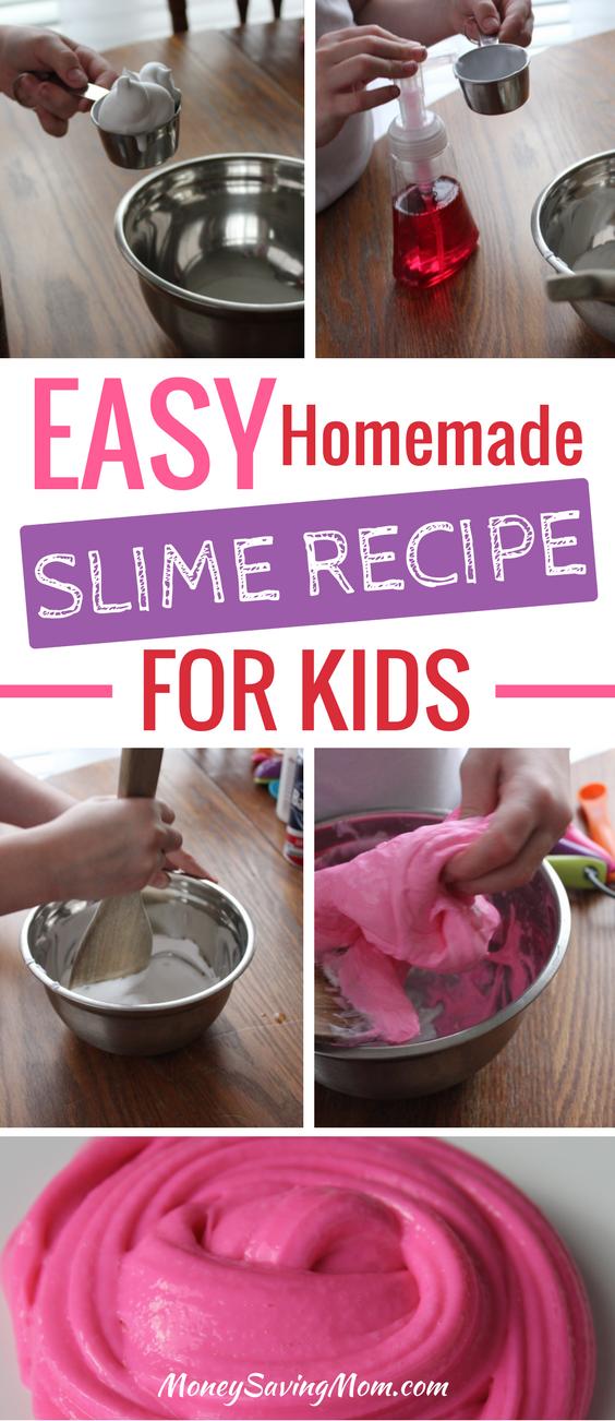 How to make homemade slime