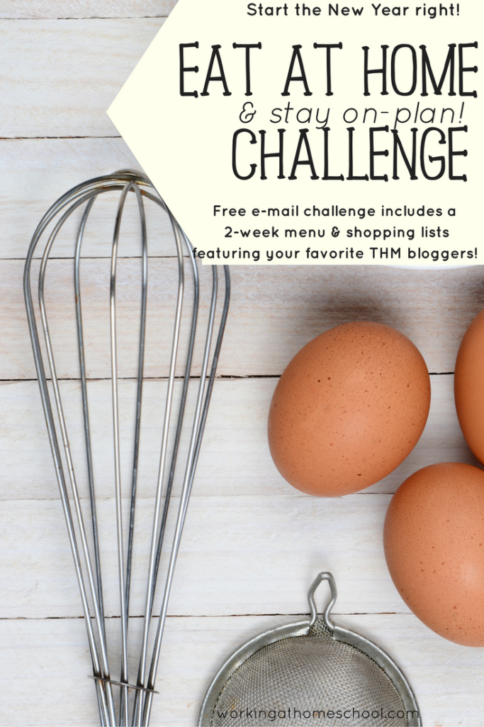 Free Eat At Home Challenge
