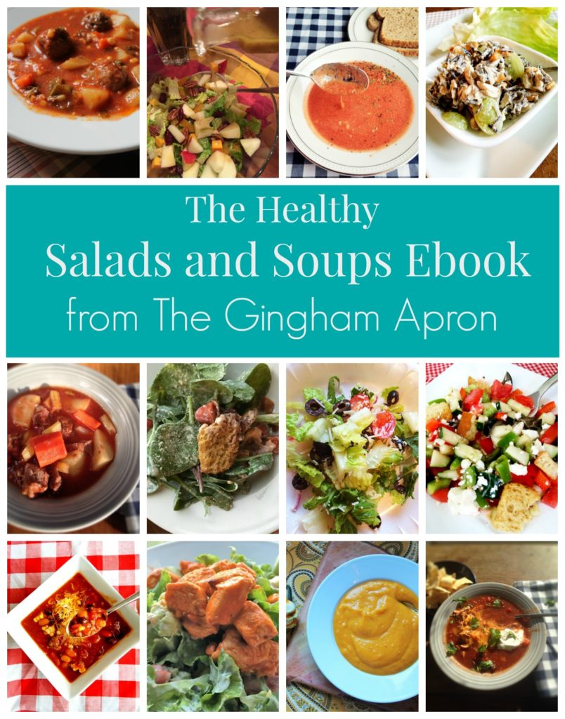 Free Healthy Salads and Soups eCookbook
