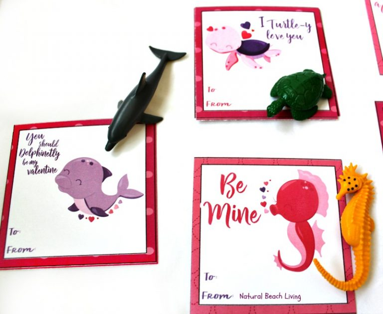 Free Printable Preschool Valentine's Day Cards