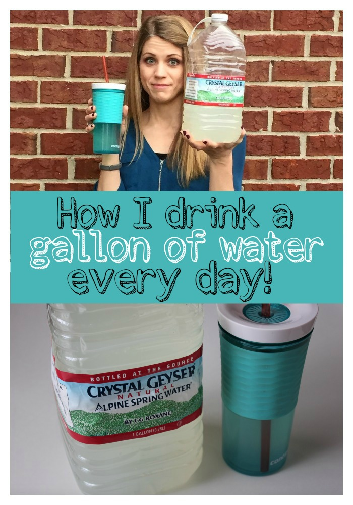 How I Drink A Gallon Of Water Every Day How It Saves Money