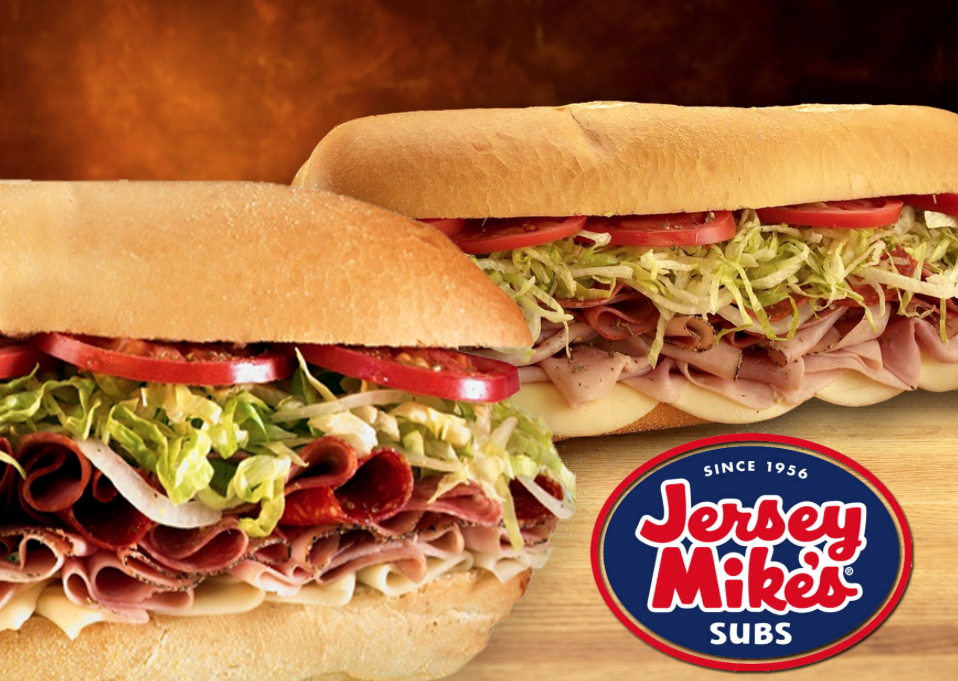 Jersey Mikes: Buy one, get one free sub sandwich