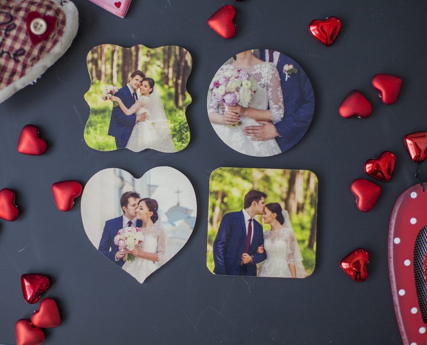 PhotoBarn: Get two personalized wooden photo magnets for just $5 each, shipped! {Valentine's Day gift idea}