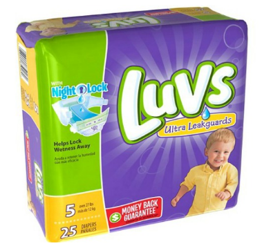 Target: Luvs Jumbo Pack Diapers for just $1.49!