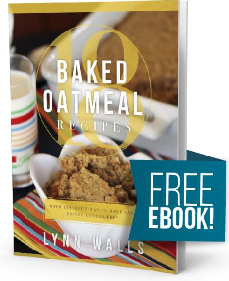 Free Baked Oatmeal eCookbook