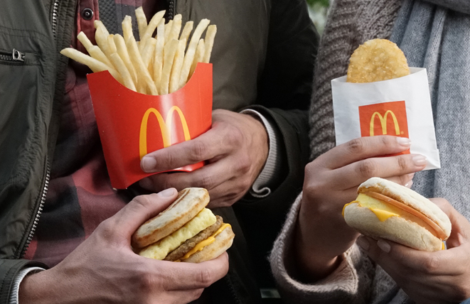 McDonald's: Buy one, get one free breakfast sandwiches