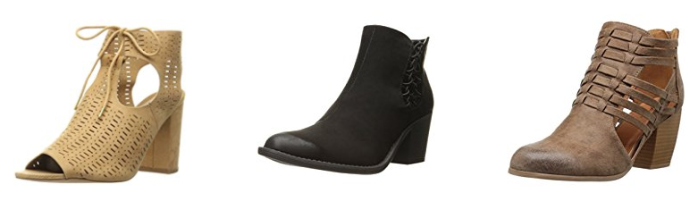 Amazon.com: Qupid Women's Ankle Boots as low as $7.36!