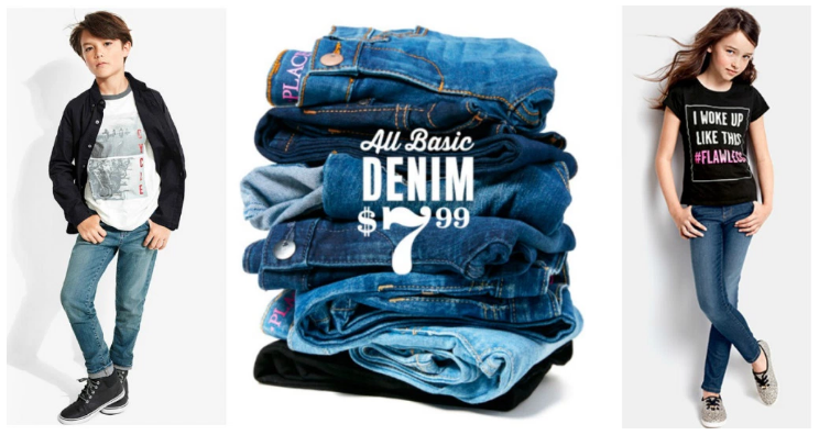 The Children's Place: Get kids' denim for just $7.99 shipped!