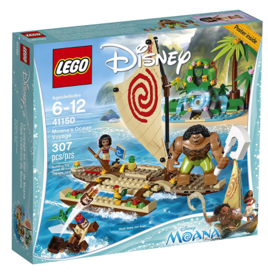 Get the LEGO Disney Moana's Ocean Voyage Set for just $27.99!