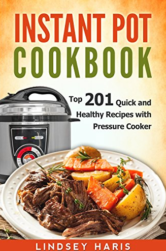 Download a fee Instant Pot eCookbook, filled with 201 different recipes!