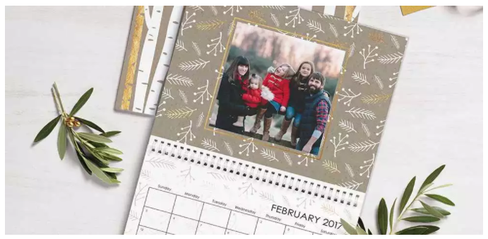Snapfish: Free 8.5 x 11 Photo Wall Calendar
