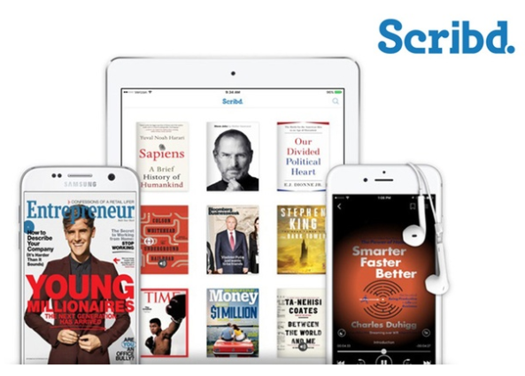 Groupon: Free three-month subscription to Scribd!