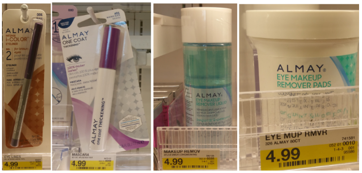 New $4/1 Almay Coupon = Free & Cheap Cosmetic Products!